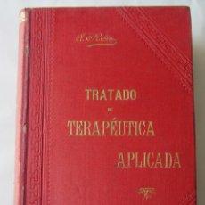 Libros antiguos: TRATADO DE TERAPÉUTICA APLICADA. ALBERTO ROBIN. ED. JOSÉ ESPASA. TOMO VII. Lote 69908905