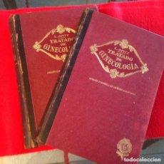 Libros antiguos: TRATADO DE GINECOLOGÍA, 2 TOMOS, DE E. OPITZ, DE 1928, EDIT. MODESTO USON, PARA MÉDICOS Y ESTUDIANTE. Lote 72302223