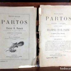Libros antiguos: 8307 - TRATADO PRÁCTICO DE PARTOS. 18 EJEMP(VER DESCRIP). AUVARD. EDIT. ESPASA Y Cº.. Lote 73007023
