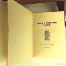 Libros antiguos: 8312 - FUNDAMENTOS DE BACTERIOLOGÍA GENERAL E INMUNOLOGÍA. VOLÚMENES I Y II EN I TOMO.. Lote 73081607