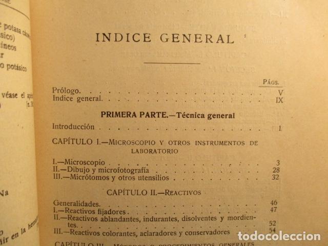 Libros antiguos: CITOLOGÍA, Parte Práctica, Técnica y Observación. - Pujiula,Jaime. - Foto 11 - 73512275