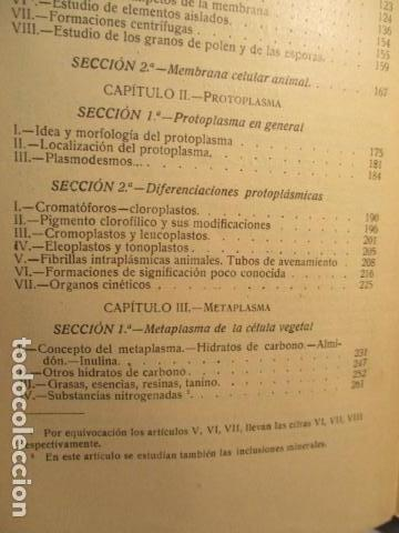 Libros antiguos: CITOLOGÍA, Parte Práctica, Técnica y Observación. - Pujiula,Jaime. - Foto 14 - 73512275