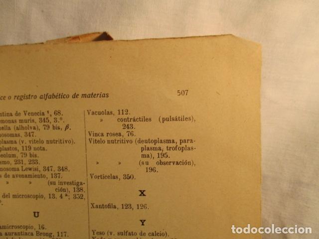 Libros antiguos: CITOLOGÍA, Parte Práctica, Técnica y Observación. - Pujiula,Jaime. - Foto 28 - 73512275