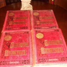 Libros antiguos: ENCICLOPEDIA FARMACEUTICA-MARIANO PEREZ M.MINGUEZ-AÑO 1891-4 TOMOS. Lote 73734459