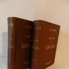 Libros antiguos: TRATADO DE CIRUGÍA, C.C.CHOICE Y J.M.BEATTIE BARCELONA,1914 VOLÚMENES 1 Y 2 QUIRURGICA. Lote 73916803