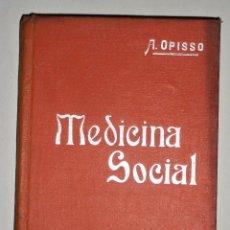 Libros antiguos: MANUALES SOLER MEDICINA SOCIAL. Lote 74197407