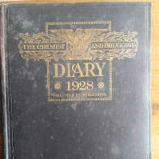 Libros antiguos: THE CHEMIST AND DRUGGIST. DIARY 1928. 60ST YEAR OF PUBLICATION. Lote 79819354
