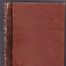 Libros antiguos: TRATADO ELEMENTAL DE FISIOLOGIA HUMANA - TOMO 1º - MAGAZ Y JAIME - 1877. Lote 74988991