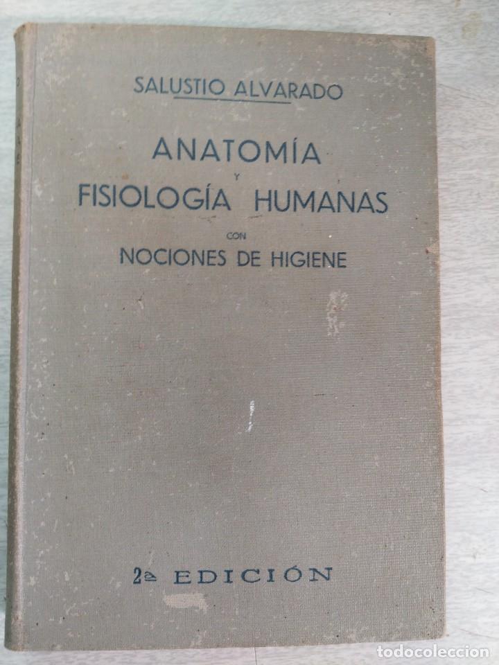 anatomía y fisiología humana con nociones de hi - Comprar Libros ...