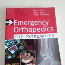 Libros antiguos: EMERGENCY ORTHOPEDICS. THE EXTREMITIES-ROBERT R. SIMON-ED. MCGRAW HILL-5º EDICION-2007. Lote 75632115