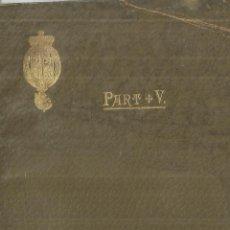 Libros antiguos: JARABE DE LOS HIPOFOSFITOS DE FELLWS EN LA VIDA AVANZADA. PARTE V. NUEVA YORK. 1885. Lote 75684507
