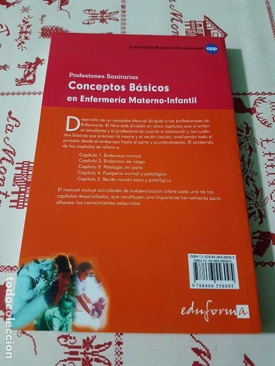 Libros antiguos: Conceptos básicos en enfermería materno infantil - Foto 2 - 76190163