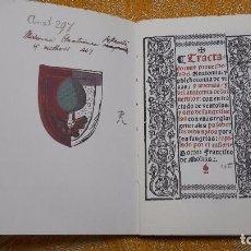 Libros antiguos: TRACTADO MUY PROVECHOSO DEL ANATOMIA, Y PHLEBOTOMIA ,FACSIMIL.SIN ENCUADERNAR.. Lote 152739676
