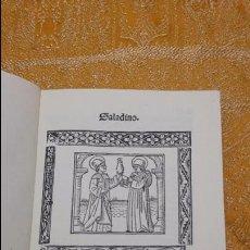Libros antiguos: SALADINO ASCULANUS / ALONSO RODRÍGUEZ DE TUDELA. FACSÍMIL (SIN ENCUADERNACION). Lote 130300648