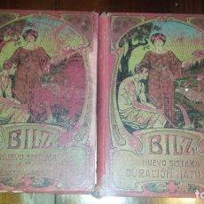 Libros antiguos: NUEVO SISTEMA DE CURACIÓN NATURAL. BILZ DOS TOMOS. 1900. Lote 80150217