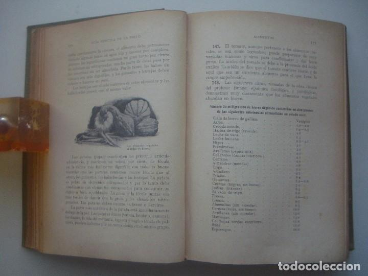 Libros antiguos: LIBRERIA GHOTICA. ROSSITER. GUÍA PRÁCTICA DE LA SALUD. TRATADO ILUSTRADO CON MUCHOS GRABADOS. - Foto 5 - 80296777