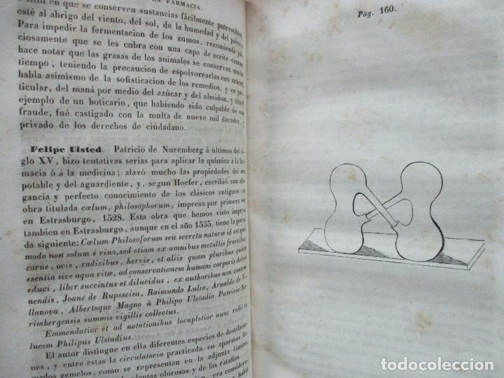 Libros antiguos: ENSAYO SOBRE LA HISTORIA DE LA FARMACIA. QUINTIN CHIARLONE Y CARLOS MALLAINA. 1847. - Foto 5 - 80486093
