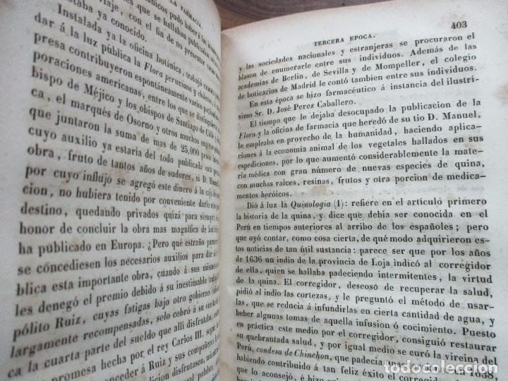 Libros antiguos: ENSAYO SOBRE LA HISTORIA DE LA FARMACIA. QUINTIN CHIARLONE Y CARLOS MALLAINA. 1847. - Foto 7 - 80486093