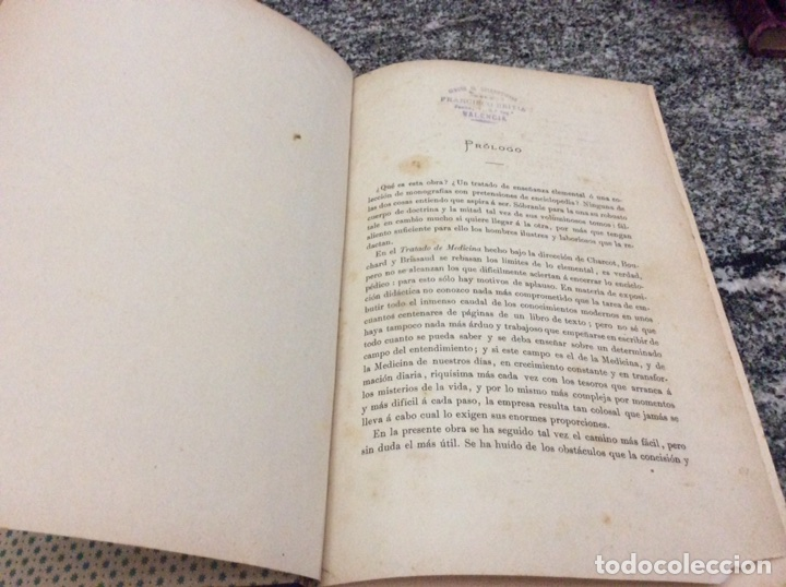 Libros antiguos: Charcot Trtado de Medicina tomo I Patología General Infecciosa - Foto 5 - 80661558