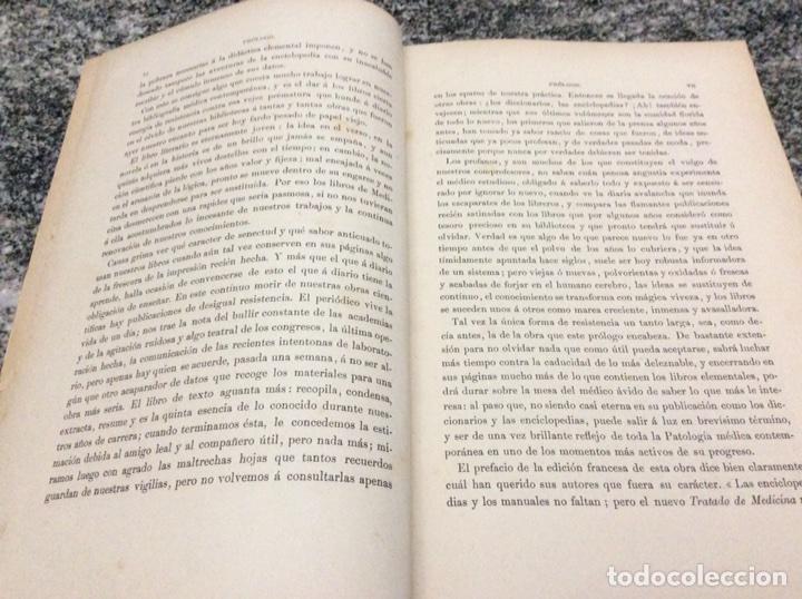 Libros antiguos: Charcot Trtado de Medicina tomo I Patología General Infecciosa - Foto 6 - 80661558