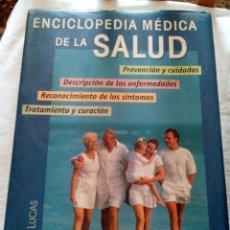 Libros antiguos: C3___LIBRO __LIBRO,ENCICLOPEDIA MEDICA DE LA SALUD__ 1056 PAGINAS,MIDE 19X27X7CM. Lote 81620560