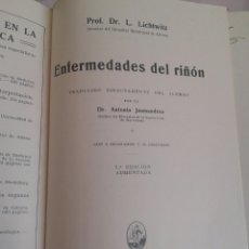 Libros antiguos: ENFERMEDADES DEL RIÑÓN - LICHTWITZ - JAUMANDREU - NEFROLOGIA - MEDICINA - 1927. Lote 82184579
