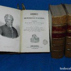 Libros antiguos: (MF) G ANDRAL - BIBLIOTECA ESCOGIDA DE MEDICINA Y CIRUJÍA O COLECCIÓN DE LAS MEJORES OBRAS DE ESTA. Lote 82728512