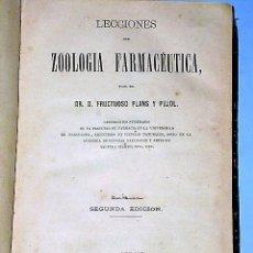 Libros antiguos: VARIAS OBRAS DE FARMACOLOGIA CONTENIDAS EN UN VOLUMEN (1870). Lote 82908676