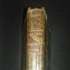 Libros antiguos: COMPENDIO DE MATERIA MEDICA 1804 A. BLASCO Y JORRO . Lote 83067642