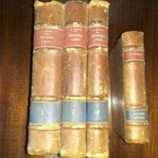 Libros antiguos: TRATADO DE MEDICINA LEGAL (1847). MATEO ORFILA. VOLS 1,2 Y 4 + TRATADO DE MATERIA MÉDICA (1862). Lote 83432172