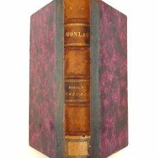 Libros antiguos: 1875 - MEDICINA - MONLAU: ELEMENTOS DE HIGIENE PRIVADA O ARTE DE CONSERVAR LA SALUD DEL INDIVIDUO. Lote 83969508