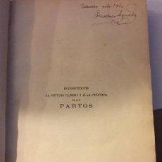 Libros antiguos: PARTOS, CURIOSO LIBRO DE OBSTETRICIA. Lote 84131616
