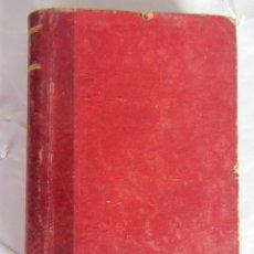 Libros antiguos: MANUAL DE PATOLOGÍA INTERNA. F.J.COLET TOMO I. ED. JOSÉ ESPASA. 1900. Lote 84755408