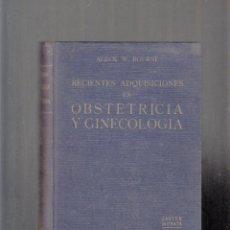 Libros antiguos: OBSTETRICIA Y GINECOLOGÍA. 1.932. Lote 84795036