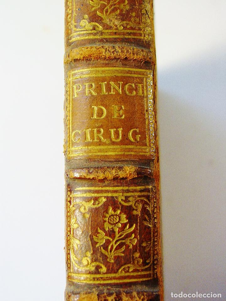 PRINCIPIOS DE CIRUGÍA. JORGE DE LA FAYE / JUAN GALISTEO. MADRID. ANTONIO MARIN, AÑO 1761. (Libros Antiguos, Raros y Curiosos - Ciencias, Manuales y Oficios - Medicina, Farmacia y Salud)