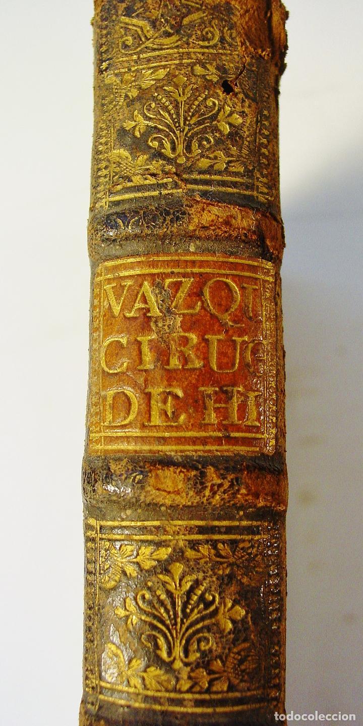 Libros antiguos: CIRUGIA DE HIPPOCRATES, Y SUS COMENTARIOS SOBRE APHORISMOS...ESCRITOS EN ITALIANO POR B. GENGA - Foto 2 - 85991428