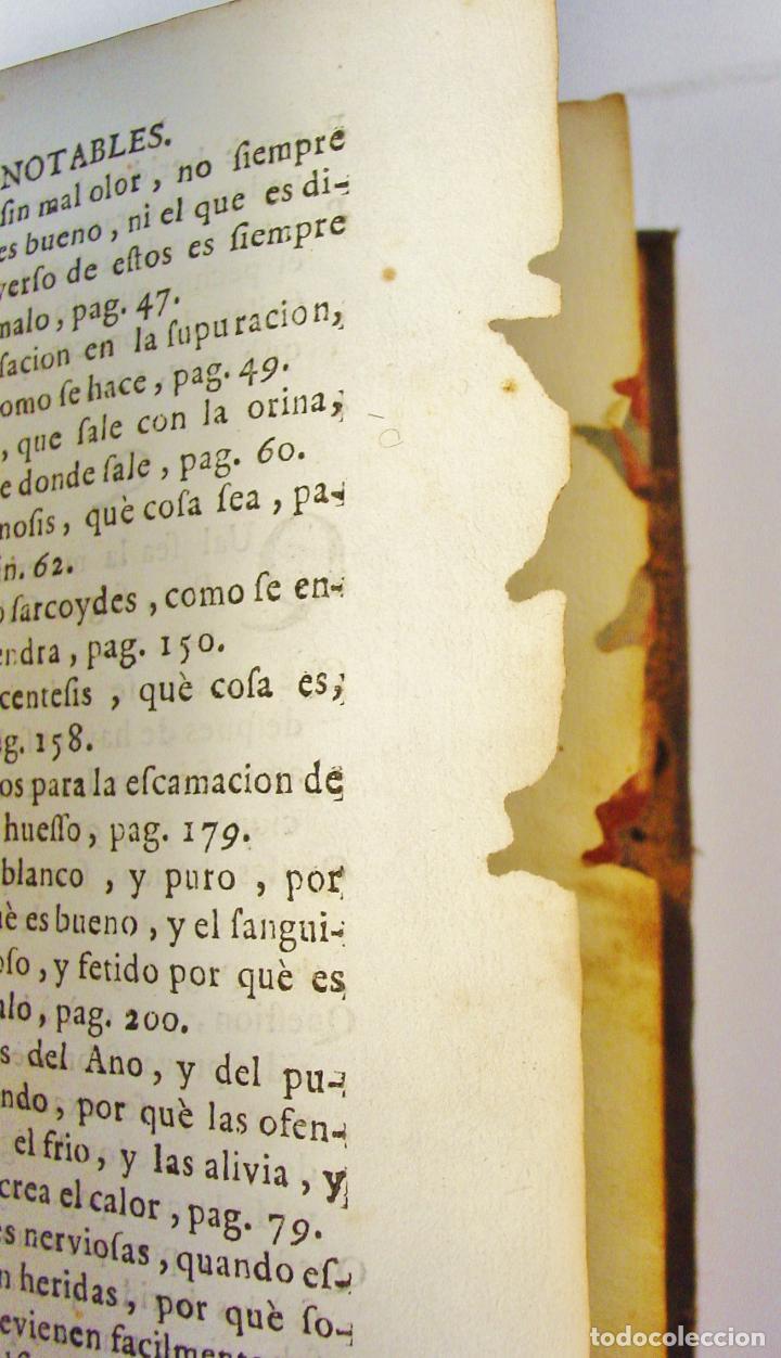Libros antiguos: CIRUGIA DE HIPPOCRATES, Y SUS COMENTARIOS SOBRE APHORISMOS...ESCRITOS EN ITALIANO POR B. GENGA - Foto 5 - 85991428