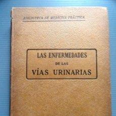 Libros antiguos: LIBRO LAS ENFERMEDADES DE LAS VIAS URINARIAS (MEDICINA, FARMACIA). Lote 87651324