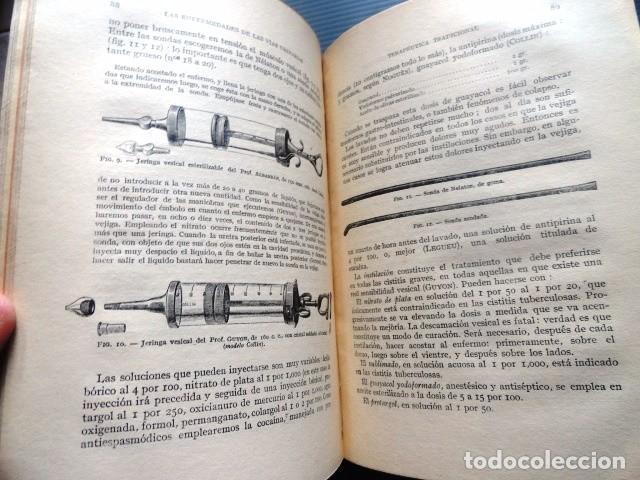 Libros antiguos: LIBRO LAS ENFERMEDADES DE LAS VIAS URINARIAS (MEDICINA, FARMACIA) - Foto 6 - 87651324