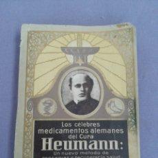 Libros antiguos: LIBRO FARMACIA - CURA HEUMANN. Lote 88381847