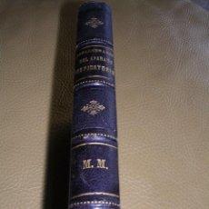 Libros antiguos: TERAPEUTICA LOCAL DE LAS ENFERMEDADES DEL APARATO RESPIRATORIO..-DOCTOR MOELLER-LOS AVISOS-1884-RARO. Lote 89172188