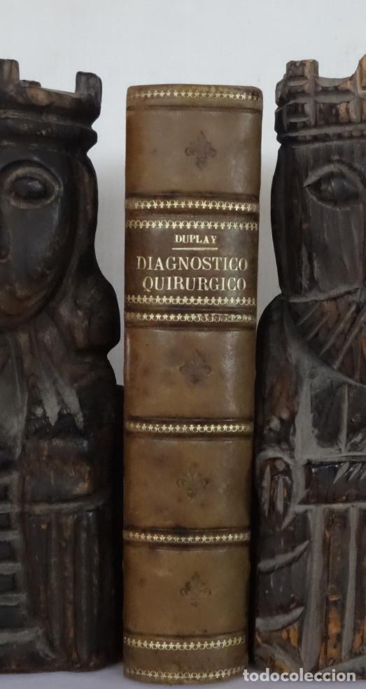 Libros antiguos: MANUAL DE DIAGNÓSTICO QUIRURGICO. ANATOMÍA CLÍNICA . EXPÑORACIÓN Y DIAGNÓSTICO, POR REGIONES, DE LAS - Foto 2 - 89291140
