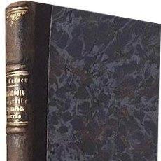 Libros antiguos: LESSER : TRATADO DE DERMATOLOGÍA, SIFILIOGRAFÍA Y ENFERMEDADES VENÉREAS. (TOMO 1º) 1903. Lote 89406864