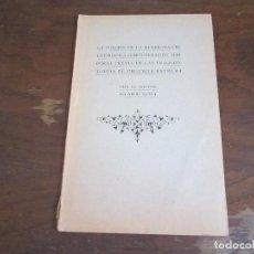 Libros antiguos: LA PUNCION DE LA MEMBRANA CRICOTIROIDEA, POR DR RICARDO BOTEY, 1907. Lote 89492776