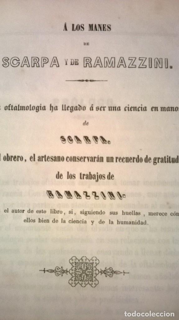 Libros antiguos: TRATADO PRÁCTICO DE LAS ENFERMEDADES DE LOS OJOS - Furnari - 1847 - Foto 3 - 89501384