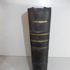 Libros antiguos: ANTIGUO LIBRO TRATADO ELEMENTAL DE FARMACOGNOSIA MATERIA FARMACEUTICA VEGETAL POR RICARDO SERRANO 19. Lote 89776760