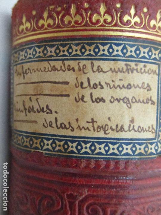 Libros antiguos: Tratado de Terapéutica Aplicada - Alberto Robin - José Espasa Editor - 8 Tomos - Completa - Año 1886 - Foto 50 - 206259152
