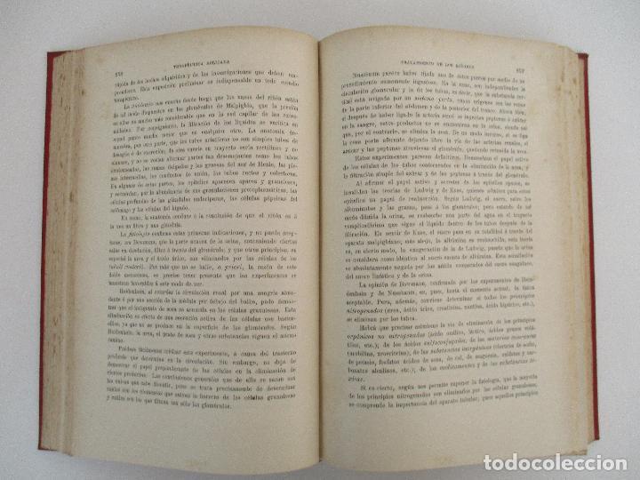 Libros antiguos: Tratado de Terapéutica Aplicada - Alberto Robin - José Espasa Editor - 8 Tomos - Completa - Año 1886 - Foto 57 - 206259152