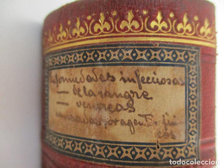 Libros antiguos: Tratado de Terapéutica Aplicada - Alberto Robin - José Espasa Editor - 8 Tomos - Completa - Año 1886 - Foto 22 - 206259152