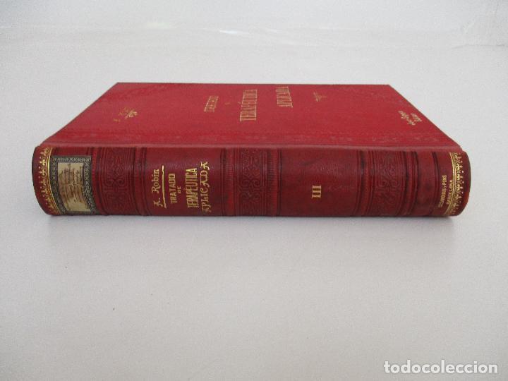 Libros antiguos: Tratado de Terapéutica Aplicada - Alberto Robin - José Espasa Editor - 8 Tomos - Completa - Año 1886 - Foto 46 - 206259152